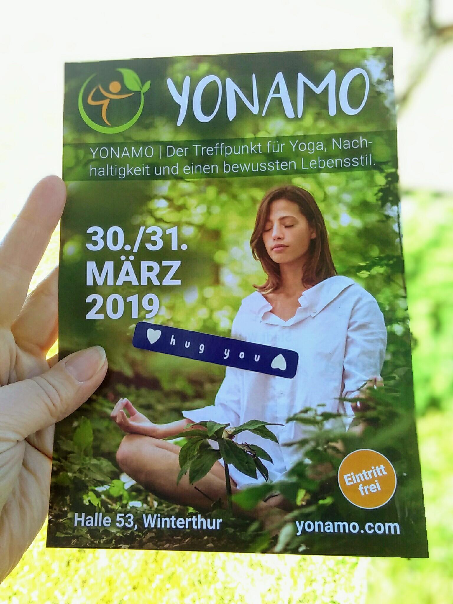 Besuchen Sie uns an der YONAMO